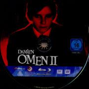 Damien - Omen 2 (1978) R2 German Blu-Ray Label