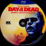 Day of the Dead: Zombie 2 – Das letzte Kapitel (1985) R2 German Blu-Ray Labels