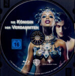 Königin der Verdammten (2002) R2 German Blu-Ray Label