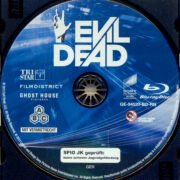 Evil Dead (2013) R2 German Blu-Ray Label