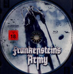 Frankenstein's Army (2013) R2 German Blu-Ray Label
