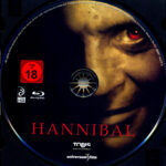 Hannibal (2001) R2 German Blu-Ray Label