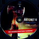 Hatchet 2 (2010) R2 German Blu-Ray Label