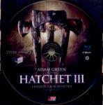 Hatchet 3 (2013) R2 German Blu-Ray Label