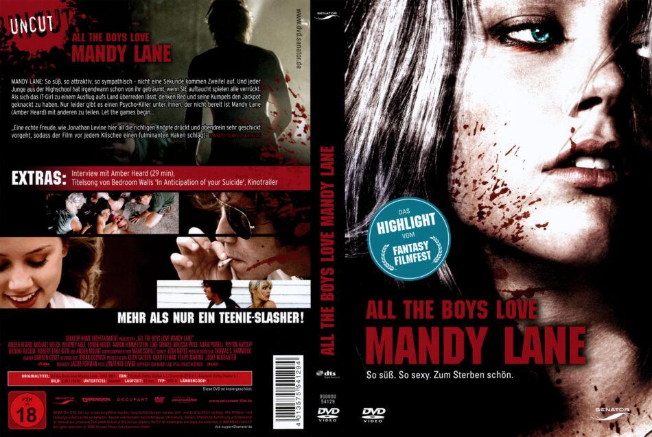 All the Boys love Mandy Lane dvd cover (2006) R2 GERMAN