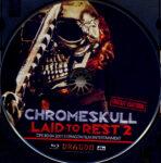 Chromeskull: Laid to Rest 2 (2011) R2 German Blu-Ray Label