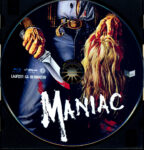 Maniac (1980) R2 German Blu-Ray Labels