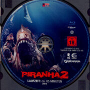 Piranha 2 (2012) R2 German Blu-Ray Label