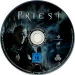 Priest (2011) R2 German Blu-Ray Labels