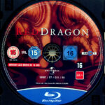Roter Drache (2002) R2 German Blu-Ray Label
