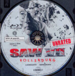 Saw 3D – Vollendung (2010) R2 German Blu-Ray Label
