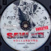 Saw 3D – Vollendung (2010) R2 German Blu-Ray Label
