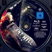 Silent Hill: Revelation 3D (2012) R2 German Blu-Ray Label