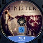 Sinister – Wenn Du ihn siehst, bist Du schon verloren (2012) R2 German Blu-Ray Label