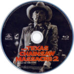 The Texas Chainsaw Massacre 2 (1986) R2 German Blu-Ray Label