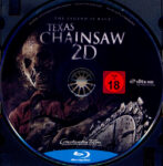 Texas Chainsaw 3D (2013) R2 German Blu-Ray Label