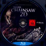 Texas Chainsaw 3D (2013) R2 German Blu-Ray Label