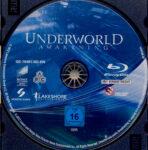Underworld: Awakening (2012) R2 German Blu-Ray Label