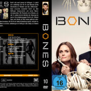 Bones Staffel 10 (2014) R2 German Custom Cover & labels