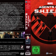 Marvel's Agents of S.H.I.E.L.D.: Staffel 2 (2015) R2 German Custom Cover & labels