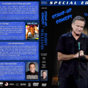 Stand-up Comedy: Robin Williams (1982-2009) R1 Custom Cover