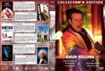 Robin Williams Collection – Set 5 (part of a spanning spine set) (2002-2006) R1 Custom Cover