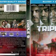 Triple 9 (2016) R1 Custom Blu-Ray Cover