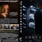 Concussion (2015) R1 Custom Blu-Ray Covers