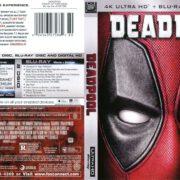 Deadpool (2016) R1 Custom Blu-Ray Covers