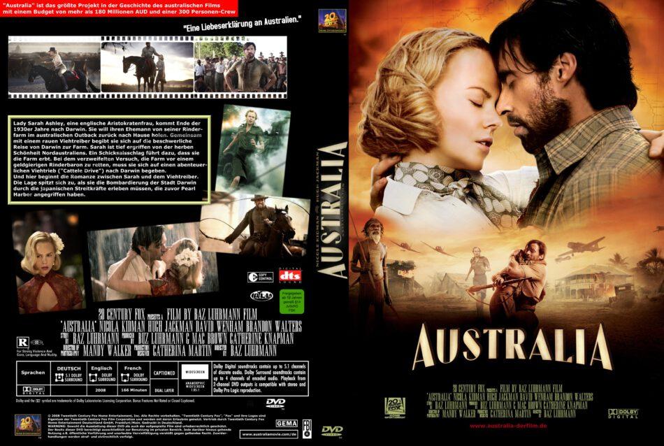 Australia Dvd Cover 2008 R2 German Custom