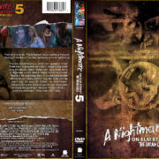 A Nightmare on Elm Street 5: The Dream Child (1989) R1 CUSTOM Cover
