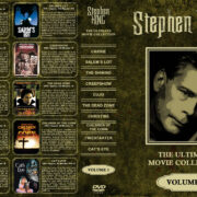 Stephen King: The Ultimate Movie Collection – Volume 1 (1976-1985) R1 Custom Cover