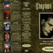 Stephen King: The Ultimate Movie Collection – Volume 4 (1994-1997) R1 Custom Cover