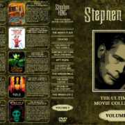 Stephen King: The Ultimate Movie Collection – Volume 5 (1997-2001) R1 Custom Cover
