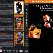 The Steven Seagal Filmography – Set 3 (2001-2004) R1 Custom Cover
