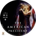 The American President (1995) R1 Custom Label