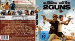 2 Guns (2013) R2 German Blu-Ray Cover