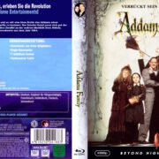 Addams Family (1991) R2 German Blu-Ray Cover