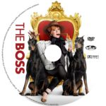 The Boss (2016) R0 CUSTOM Label