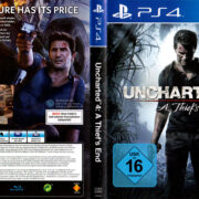 Uncharted 4 A Thief's End (2016) PS4 German Cover