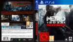 Metro 2033 Redux (2013) PS4 German Cover