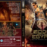 Gods Of Egypt (2016) R2 Custom DVD Cover