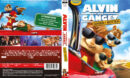 Alvin and the Chipmunks - The Road Chip (2015) R2 DVD Nordic Cover