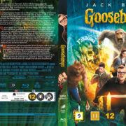 Goosebumps (2015) R2 Blu-Ray Nordic Cover