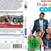 Kindergarten Cop 2 (2016) R2 German Custom Blu-Ray Covers