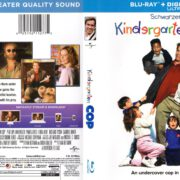 Kindergarten Cop (1990) R1 Blu-Ray Cover & label