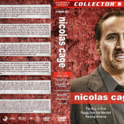 Nicolas Cage Filmography - Set 2 (1986-1989) R1 Custom Covers