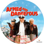 Armed and Dangerous (1986) R1 Custom Label