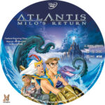 Atlantis: Milo's Return (2003) R1 Custom Labels