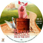 Babe 2: Pig in the City (1998) R1 Custom Label